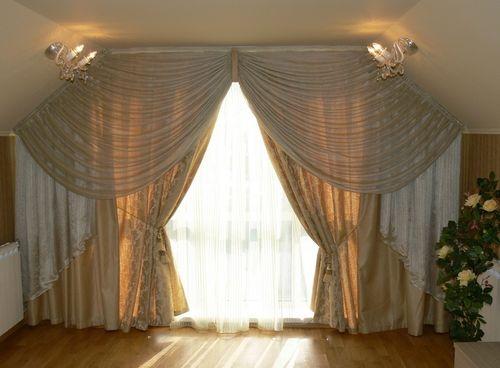 Как выбрать нестандартные шторы для окон квартиры