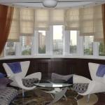Как выбрать римские шторы для гостиной
