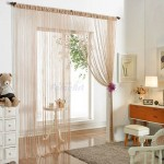 Как выбрать шторы нитки для интерьера кухни