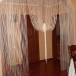 Как выбрать шторы висюльки на дверной проем