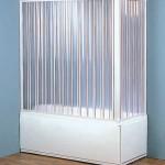 Какие бывают душевые шторы для ванной