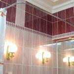 Какие бывают палки для штор в ванную