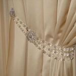 Какие бывают подвязки для штор и как их сделать