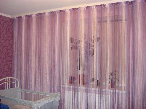 Какие бывают веревочные шторы