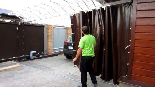 Какие шторы выбрать для гаража