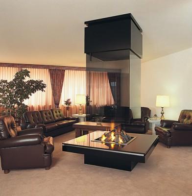 Камины в интерьере квартиры и загородного дома: стили, варианты расположения