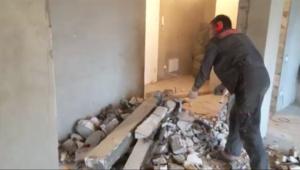 Капитальный ремонт: демонтаж стен