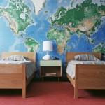 Карты в интерьере, искусство и вариант дизайна без особых затрат