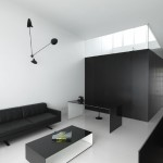 Классическое сочетание черного и белого цветов в интерьере: 30 уникальных домашних кабинетов