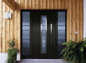 Конструкционные особенности двустворчатых дверей
