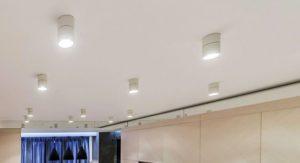 Конструкционные особенности накладных потолочных светильников