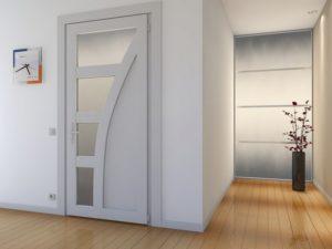 Конструкционные особенности пластиковых дверей