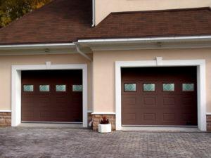 Конструкционные особенности секционных гаражных ворот