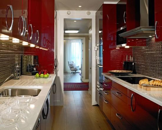 Красный цвет в дизайне интерьеров. Лучшие идеи на фото!