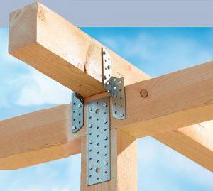 Крепление деревянных конструкций