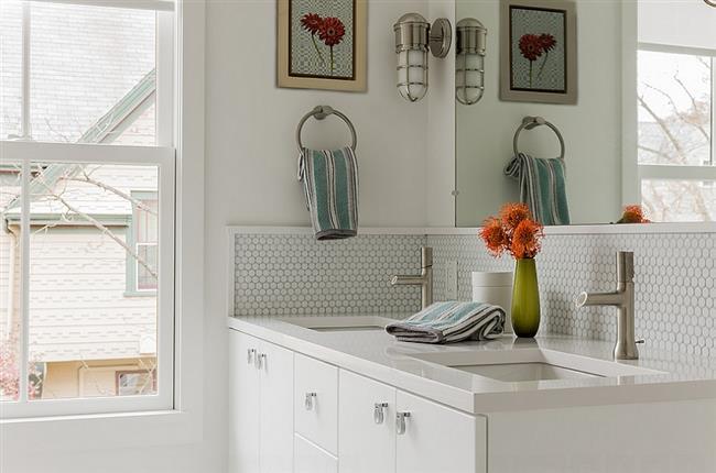 Круглая мозаика – отличное дизайнерское решение для украшения дома или квартиры!