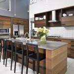 Кухни цвета венге