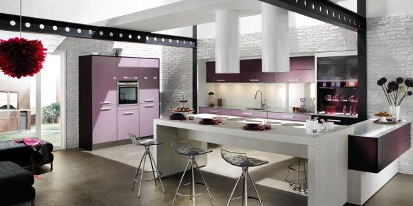 Кухни в стиле хай-тек: фото, советы специалистов и выбор аксессуаров