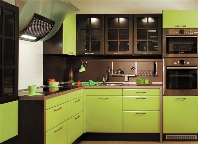 Кухня оливкового цвета: расскажем о тонкостях сочетания