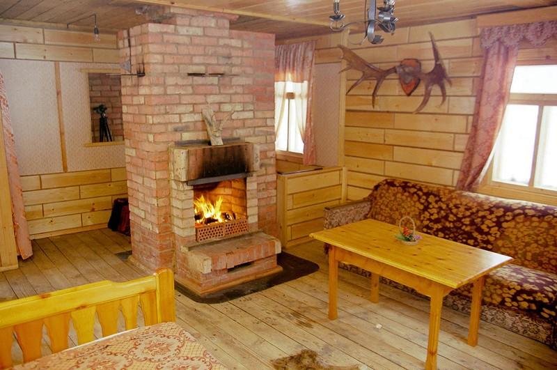 Кухня с печкой – неповторимый дизайн в интерьере вашего дома