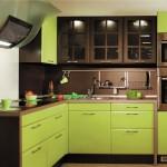 Кухня в фисташковом цвете: сочетаем правильно