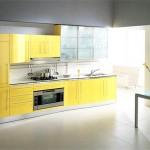 Кухня желтого цвета: какой цвет выбрать для контраста
