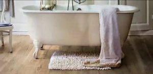 Ламинат для ванной. Миф или реальность