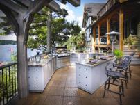 Летние кухни в дачном варианте