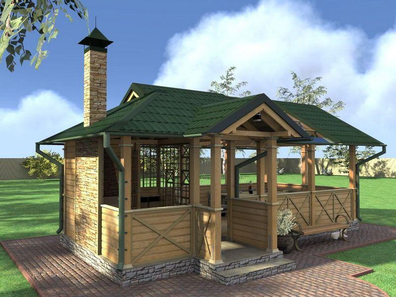 Летняя кухня в частном доме: выбираем дизайн и отделку