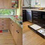 Лучшие идеи по рациональной организации свободного пространства на кухне