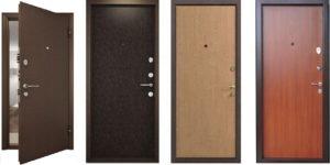 Металлические входные двери – надёжность и красота