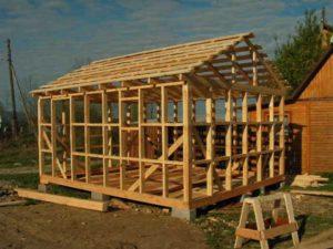 Методика строительства каркасной бани