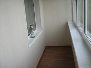 Методики внутренней отделки балконов и лоджий
