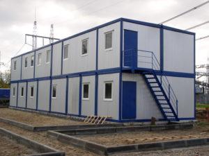 Модельные здания из блок-контейнеров – универсальные строения
