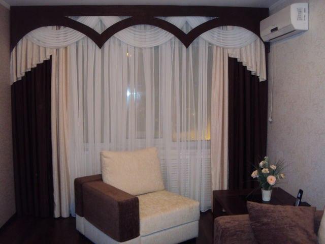 Модные шторы для зала 2015: популярные варианты оформления