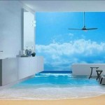 Наливные 3D полы в декоре современных помещений
