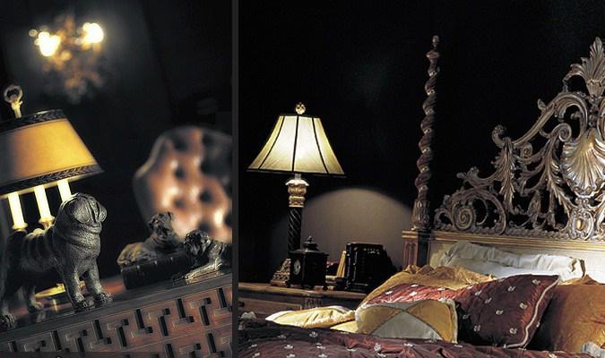 Ночники и свечи в интерьере