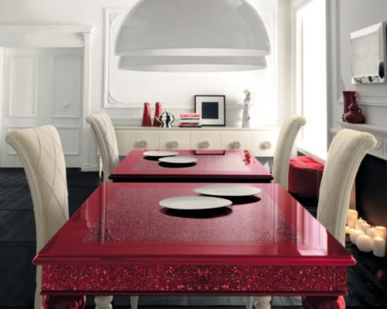 Обеденный стол в дизайне интерьера