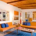 Оранжевая гостиная