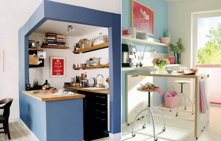 Оригинальные решения для маленькой кухни: стиль и эргономика