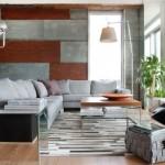 Осенний декор дома своими руками: металлические изделия, серые стены, необычные светильники и другие элементы в интерьере