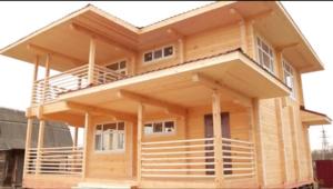 Особенности деревянного дома из бруса