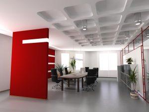 Особенности внутренней отделки офисов
