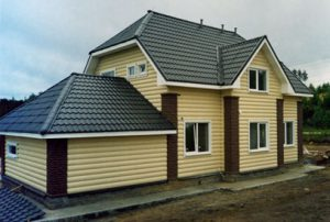 Отделка дома с помощью блок хауса
