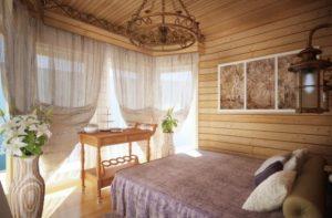 Отделка комнат с помощью древесины