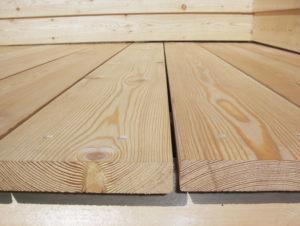 Палубная доска из лиственницы – идеальный материал для напольной поверхности