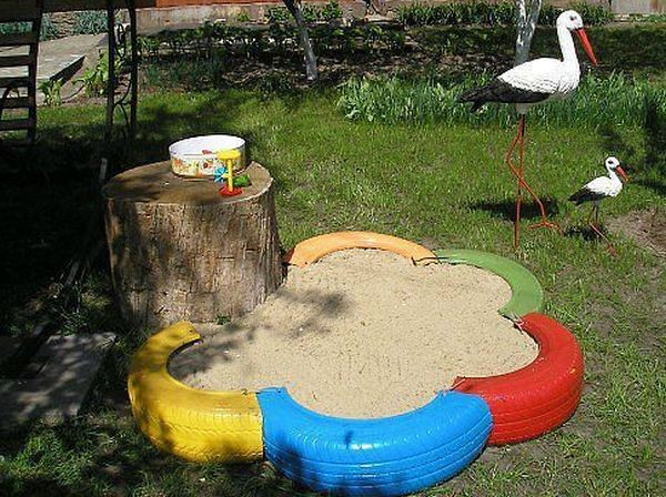 Песочница для детей на дачу: создаем уголок увлекательных игр