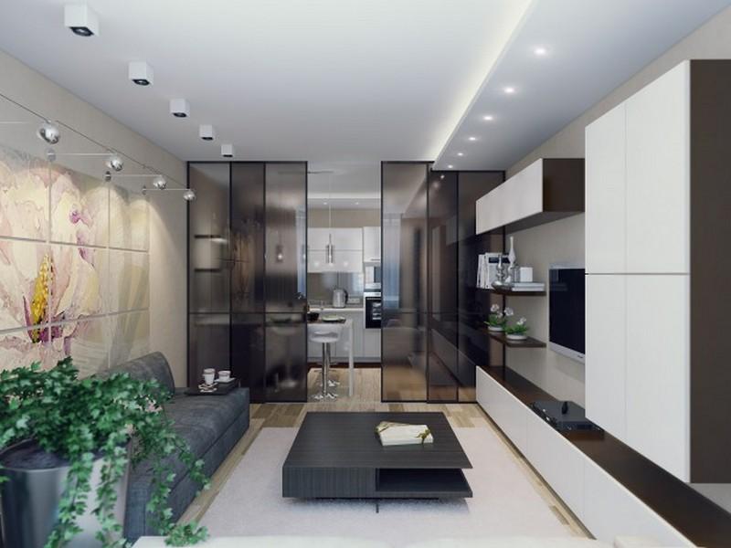 Планируем кухню гостиную 13 кв м: лучшие идеи дизайна