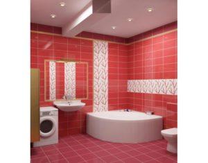 Плитка – как материал для ванной комнаты