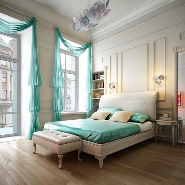 Покрывало на кровать как декоративный элемент спальни
